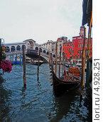 Мост Риальто, Венеция. Редакционное фото, фотограф Александра Каргаполова / Фотобанк Лори