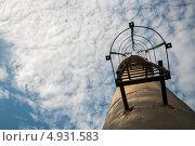 Лестница водонапорной башни. Стоковое фото, фотограф Даниил Максюков / Фотобанк Лори