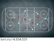Купить «Стратегия игры в хоккей», фото № 4934531, снято 4 июня 2020 г. (c) Sergey Nivens / Фотобанк Лори