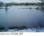 Зимний пруд. Стоковое фото, фотограф Вадим Беляев / Фотобанк Лори