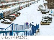 Автомобили железнодорожников (2012 год). Редакционное фото, фотограф Анатолий Матвейчук / Фотобанк Лори