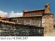 Древняя церковь Святого Стефана, город Несебыр, Болгария. Стоковое фото, фотограф Искрен Петров / Фотобанк Лори