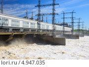 Купить «Камская ГЭС. Пермь. Россия», фото № 4947035, снято 19 мая 2012 г. (c) Андрей Щекалев (AndreyPS) / Фотобанк Лори