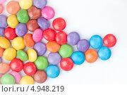 Купить «Разноцветные драже», фото № 4948219, снято 8 февраля 2012 г. (c) Wavebreak Media / Фотобанк Лори