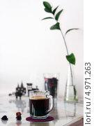 Кофе. Стоковое фото, фотограф Анастасия Кунденкова / Фотобанк Лори