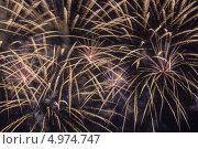 Праздничный салют. Стоковое фото, фотограф Андрей Каретников / Фотобанк Лори