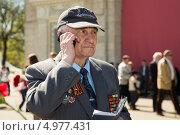 Купить «Ветеран Великой Отечественной войны. 9 мая 2013 года», эксклюзивное фото № 4977431, снято 9 мая 2013 г. (c) Михаил Ворожцов / Фотобанк Лори