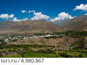 Купить «Село Хрюг Ахтынского района республики Дагестан», фото № 4980867, снято 15 августа 2013 г. (c) Омар Омаров / Фотобанк Лори
