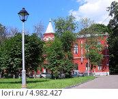 Городская клиническая больница № 14 им. В.Г. Короленко, Москва (2013 год). Стоковое фото, фотограф lana1501 / Фотобанк Лори