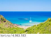 Пляж Кала дель Пилар (Cala del Pilar), Menorca, Spain (2013 год). Стоковое фото, фотограф Александр Юркинский / Фотобанк Лори