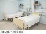 Купить «Пустая больничная палата», фото № 4986383, снято 25 апреля 2012 г. (c) Wavebreak Media / Фотобанк Лори