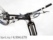 Руль велосипеда (2011 год). Редакционное фото, фотограф Ilya Tikhanovsky / Фотобанк Лори