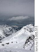 Горы и облака. Стоковое фото, фотограф Барабанов Максим / Фотобанк Лори