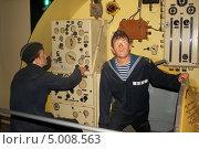 Реконструкция действий экипажа подводных лодок (2013 год). Редакционное фото, фотограф Робул Дмитрий / Фотобанк Лори