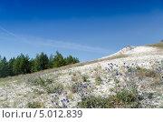 Купить «Меловые горы», фото № 5012839, снято 29 августа 2013 г. (c) Yanchenko / Фотобанк Лори