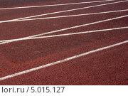 Беговые дорожки на стадионе. Стоковое фото, фотограф Ирина Яздан Мехр / Фотобанк Лори