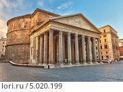 Купить «Пантеон в Риме, Италия», фото № 5020199, снято 14 августа 2018 г. (c) Sergey Borisov / Фотобанк Лори