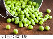 Зеленый горошек. Стоковое фото, фотограф Оксана Ковач / Фотобанк Лори