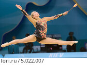 Emilie Holte, Норвегия, на Чемпионате мира по художественной гимнастике в Киеве, фото № 5022007, снято 29 августа 2013 г. (c) Stockphoto / Фотобанк Лори