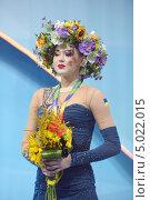 Алина Максименко, Украина, завоевала бронзовую медаль на Чемпионате мира по художественной гимнастике в Киеве, фото № 5022015, снято 29 августа 2013 г. (c) Stockphoto / Фотобанк Лори