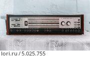 """Купить «Радиола """"Элегия-102 стерео""""», фото № 5025755, снято 15 августа 2013 г. (c) Лучезарный Константин / Фотобанк Лори"""