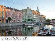 Санкт-Петербург. Река Мойка (2013 год). Редакционное фото, фотограф Александр Алексеев / Фотобанк Лори