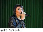 Купить «Певица Света», эксклюзивное фото № 5035307, снято 7 сентября 2013 г. (c) Вероника / Фотобанк Лори