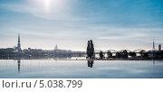 Купить «Красивый вид города Риги, Латвия», фото № 5038799, снято 8 сентября 2013 г. (c) Alexander Tihonovs / Фотобанк Лори