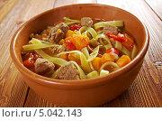 Купить «Узбекский суп лагман», фото № 5042143, снято 7 сентября 2013 г. (c) Александр Fanfo / Фотобанк Лори