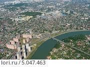 Купить «Вид на город Краснодар сверху», фото № 5047463, снято 8 мая 2013 г. (c) Виктор Затолокин/Victor Zatolokin / Фотобанк Лори