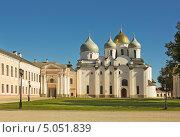 Купить «Софийский собор в Великом Новгороде», фото № 5051839, снято 7 сентября 2013 г. (c) Валентина Троль / Фотобанк Лори
