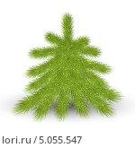 Купить «Новогодняя елка», иллюстрация № 5055547 (c) Евгения Малахова / Фотобанк Лори