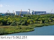 Купить «Ростовский элеватор», фото № 5062251, снято 14 сентября 2013 г. (c) Борис Панасюк / Фотобанк Лори