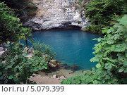Голубое озеро. Стоковое фото, фотограф Солотчина Марина / Фотобанк Лори