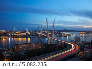 Купить «Ночной Владивосток», фото № 5082235, снято 17 сентября 2013 г. (c) Наталья Волкова / Фотобанк Лори