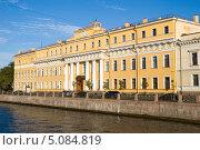 Купить «Река Мойка. Юсуповский дворец. Санкт-Петербург», эксклюзивное фото № 5084819, снято 31 августа 2013 г. (c) Александр Щепин / Фотобанк Лори