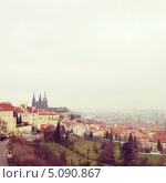 Купить «Осенняя Прага», фото № 5090867, снято 16 августа 2018 г. (c) Светлана Мамонтова / Фотобанк Лори