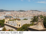 Купить «Европа. Барселона. Вид сверху», эксклюзивное фото № 5091487, снято 16 сентября 2013 г. (c) Svet / Фотобанк Лори