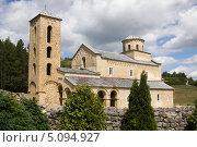 Купить «Православный монастырь Сопочаны в Сербии», фото № 5094927, снято 27 августа 2012 г. (c) Солодовникова Елена / Фотобанк Лори