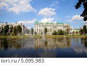 Купить «Казань. Чёрное озеро», эксклюзивное фото № 5095983, снято 13 августа 2012 г. (c) A Челмодеев / Фотобанк Лори