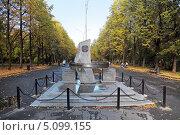 Памятник ликвидаторам ядерных катастроф, город Екатеринбург (2013 год). Редакционное фото, фотограф Игорь Долгов / Фотобанк Лори