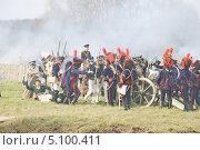 Купить «Малоярославецкое сражение», эксклюзивное фото № 5100411, снято 21 октября 2012 г. (c) stargal / Фотобанк Лори