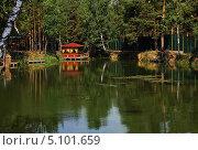 Домик рыбака. Стоковое фото, фотограф Виктор Карпов / Фотобанк Лори