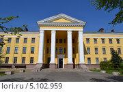 Купить «Дзержинский технический колледж», фото № 5102959, снято 6 мая 2012 г. (c) Балашов Антон Владимирович / Фотобанк Лори