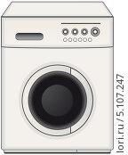 Купить «Современная стиральная машина», иллюстрация № 5107247 (c) Александр Галата / Фотобанк Лори