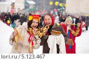 Купить «Женщины празднуют масленицу», фото № 5123467, снято 26 февраля 2012 г. (c) Яков Филимонов / Фотобанк Лори