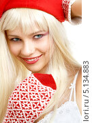 Купить «Красивая девушка в зимней шапке», фото № 5134883, снято 14 августа 2006 г. (c) Syda Productions / Фотобанк Лори