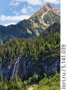 Альпийские горы. Форарльберг, Австрия (2012 год). Стоковое фото, фотограф Юрий Брыкайло / Фотобанк Лори