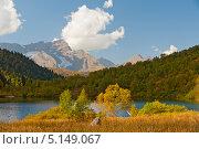 Купить «Осень в горах», фото № 5149067, снято 19 сентября 2012 г. (c) Виктор Затолокин/Victor Zatolokin / Фотобанк Лори
