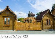 Купить «Москва, усадьба Деда Мороза в парке «Кузьминки»», фото № 5158723, снято 19 августа 2013 г. (c) ИВА Афонская / Фотобанк Лори